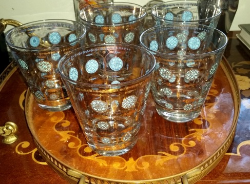 blue gold bar glasses 2
